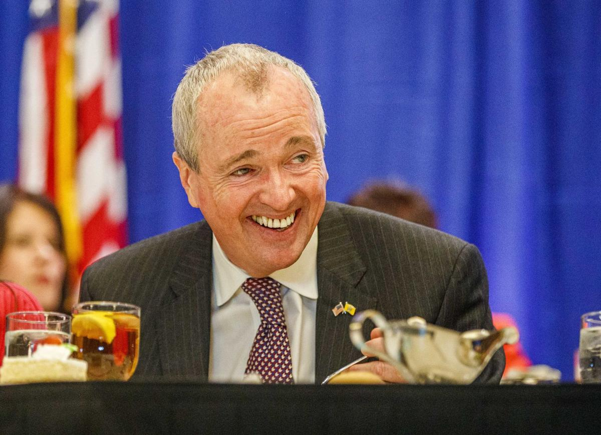 Gov. Phil Murphy appeared at the NJLM conference