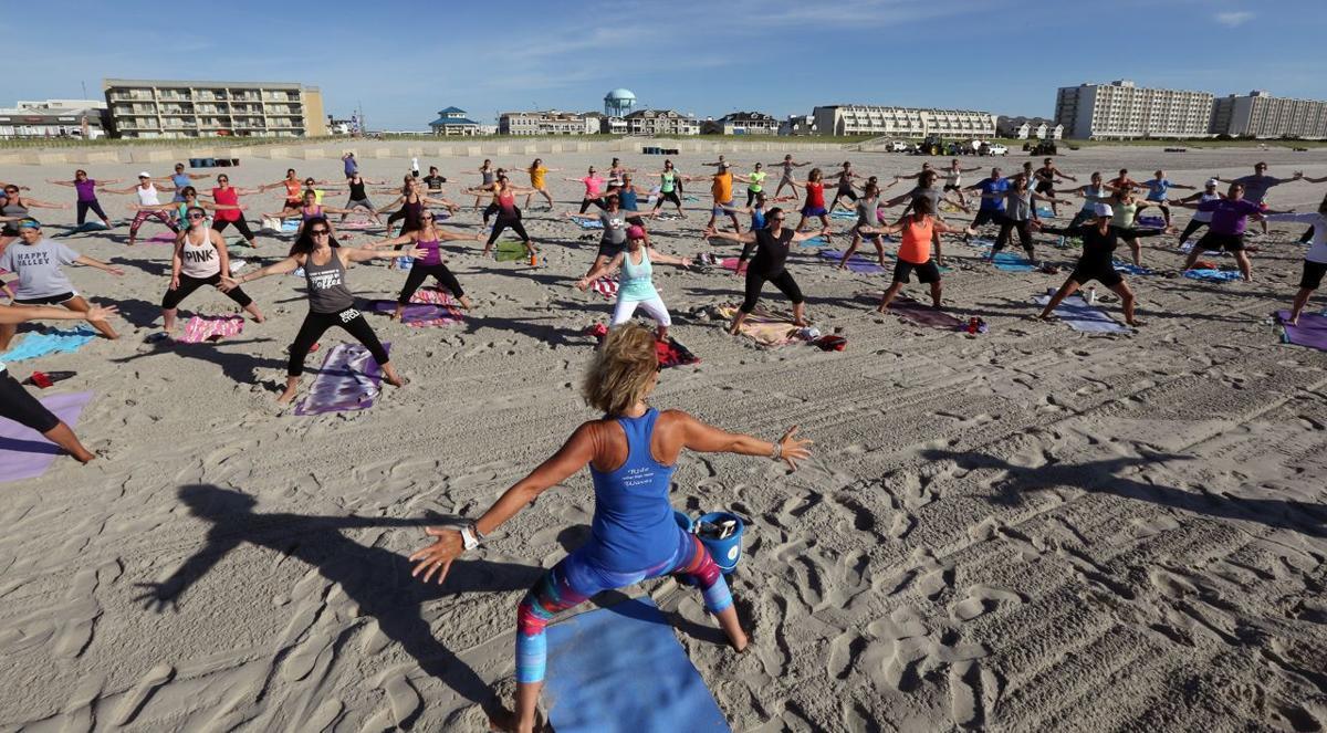 -30- Beach Yoga