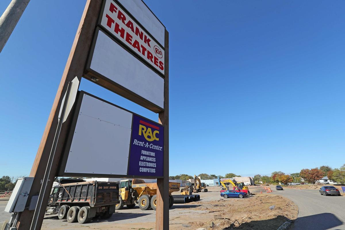 Kmart shopping center being renovated