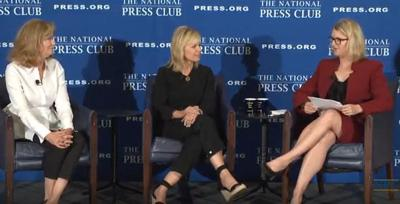 Carlson and Hopper talk about 'moving forward' with Miss America at National Press Club event