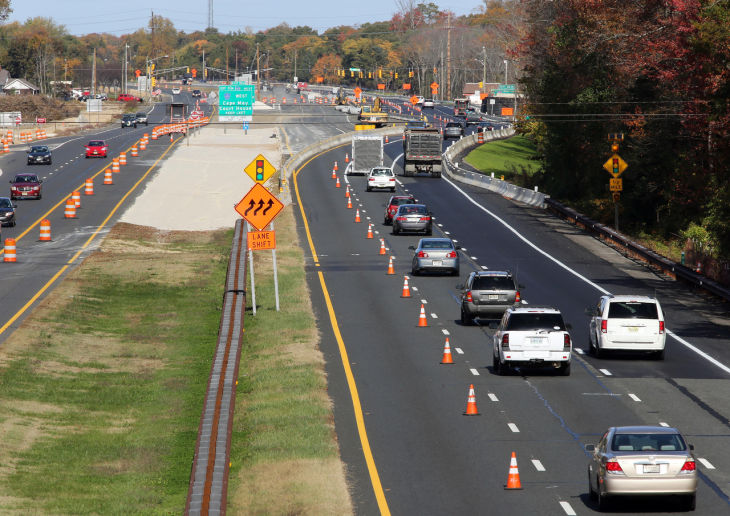 Garden State Parkway Light Removal About 15 Percent Finished Cape May County
