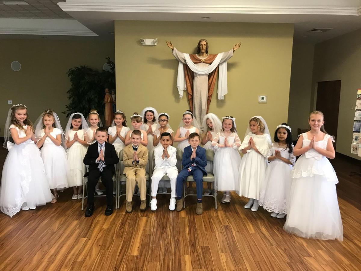 First Communion at St. Thomas