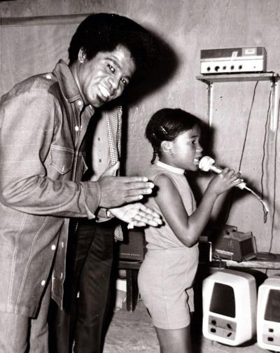James Brown's visit to Little Indian Day Camp