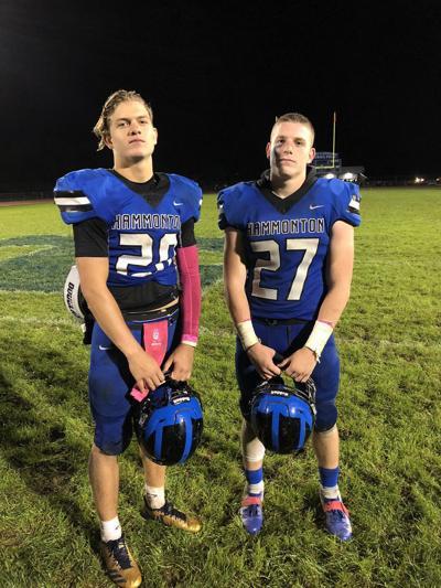 The Vandever brothers from Hammonton High School