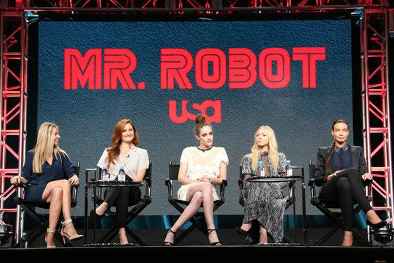 The Women of USA's 'Mr. Robot': 'We are women, we are equals'
