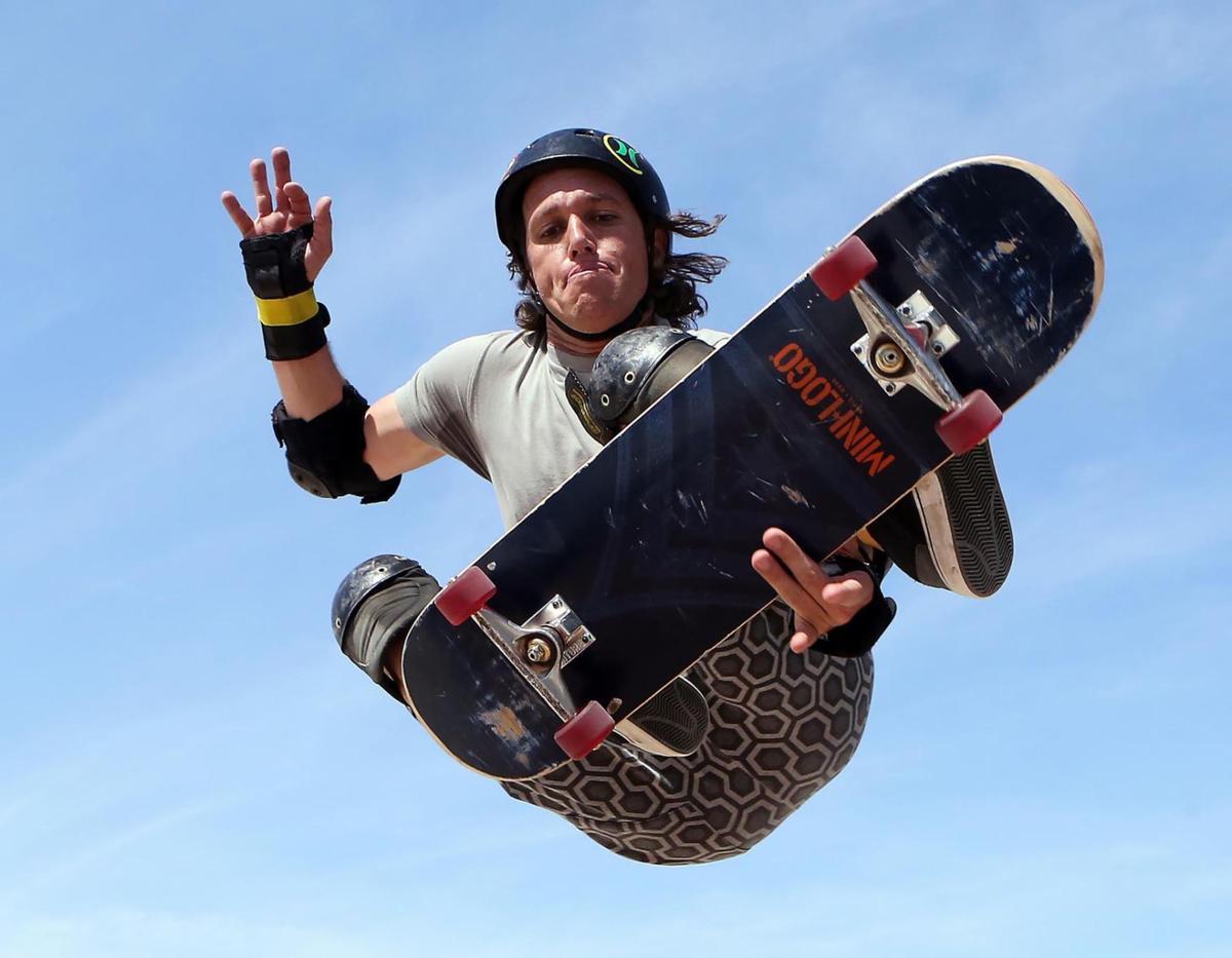Ageless Skateboarder