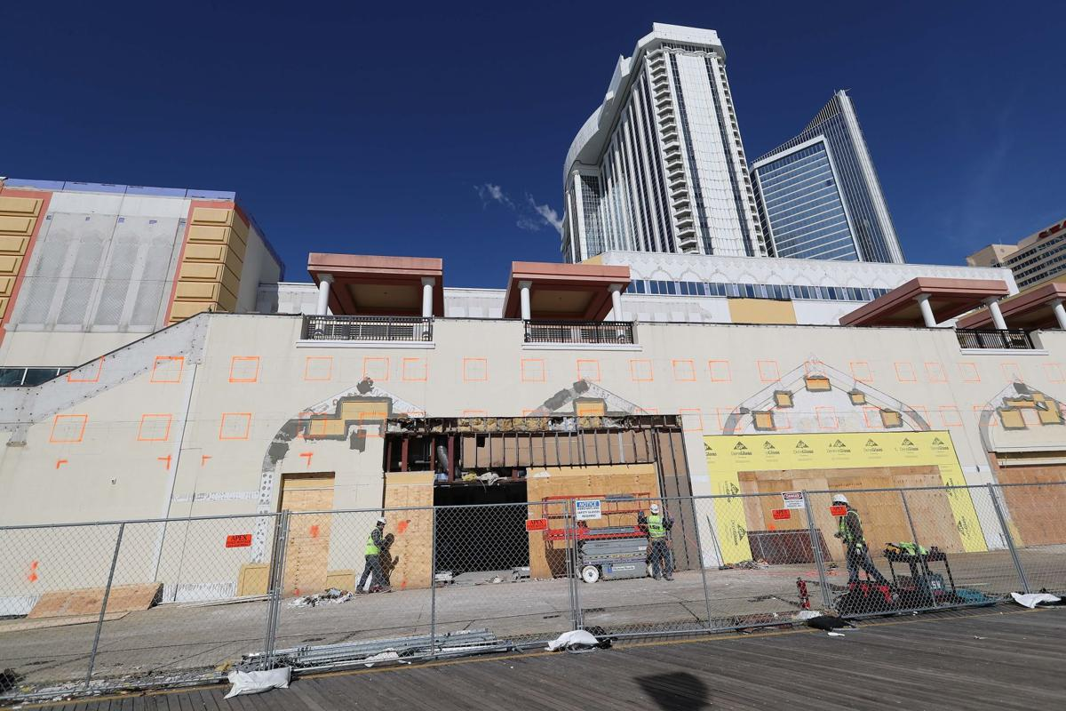 Construction on the Hard Rock continues (copy)