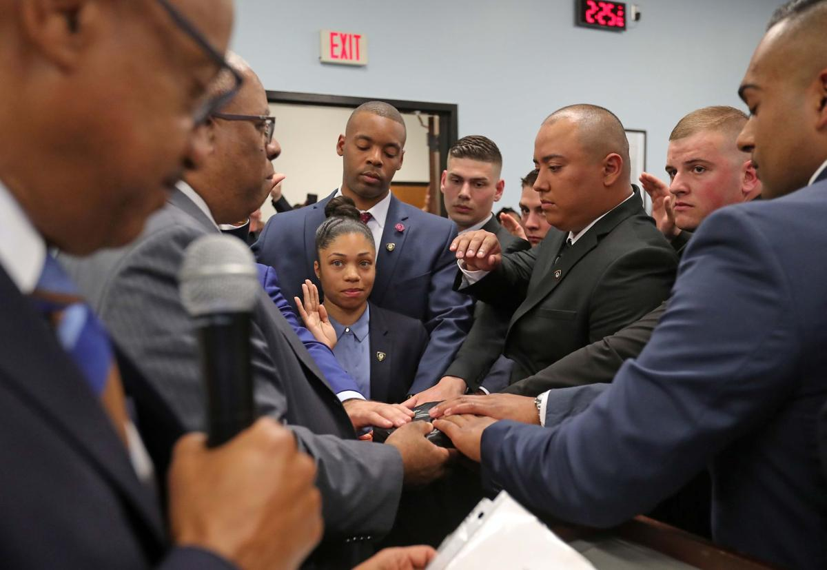 Eighteen Special Law Enforcement Officers promoted to full-time officers