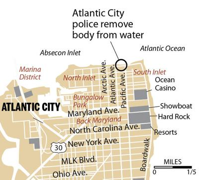Atlantic City Police find body in water 10-2019
