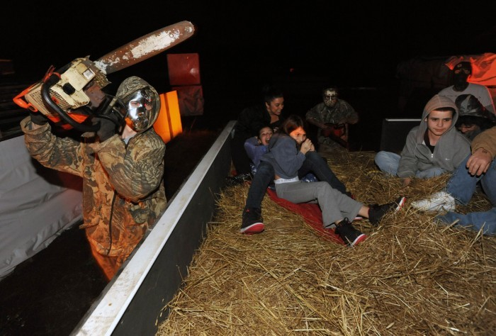 Haunted House Hayride Organizers Say It Takes Time To Brew Up A