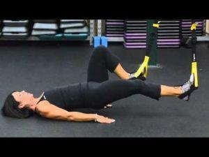 your workout trx hamstring runner  fitness
