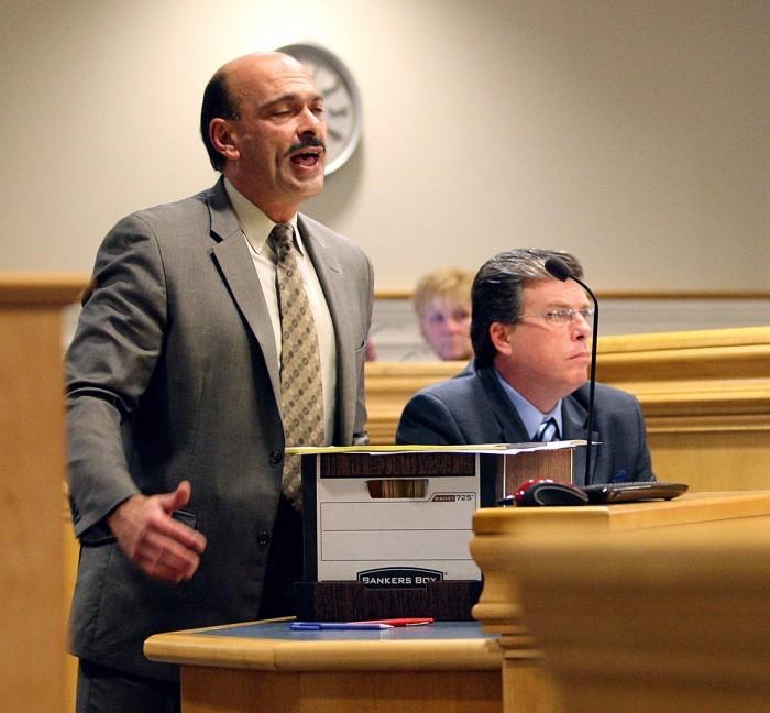 Charles Cain DWI trial