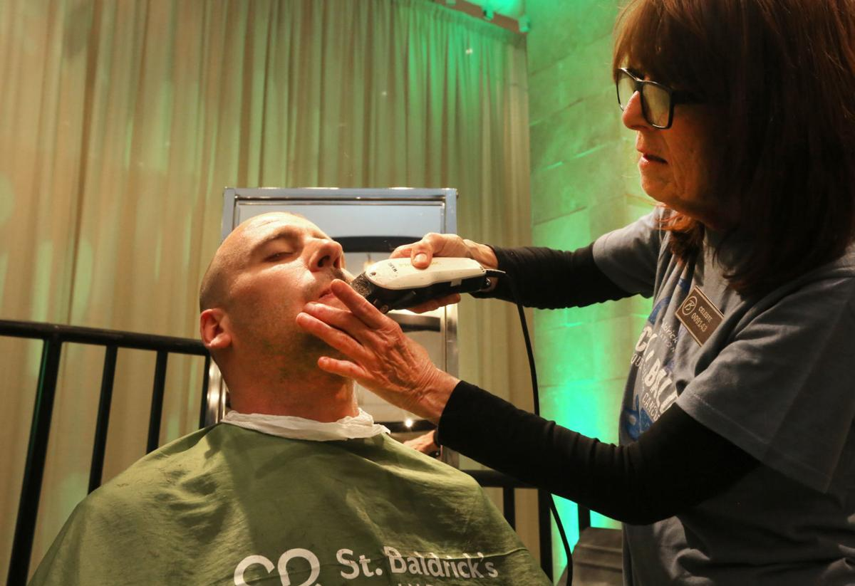 St. Baldrick's head shaving at Borgata