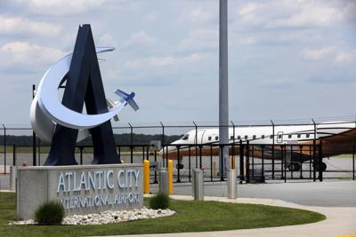 Flights leave Atlantic City Airport