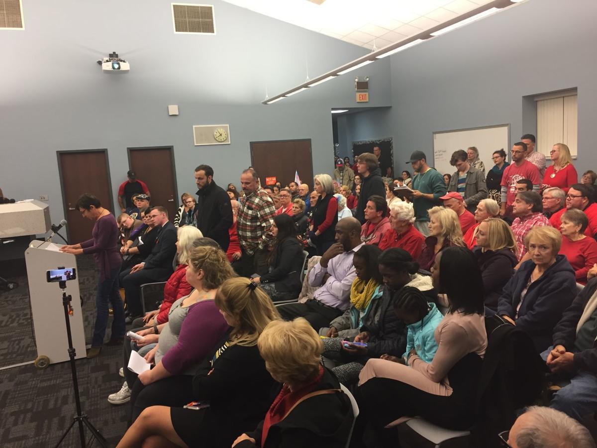Egg Harbor Township Board of Education meeting Tuesday, Nov. 26, 2019.