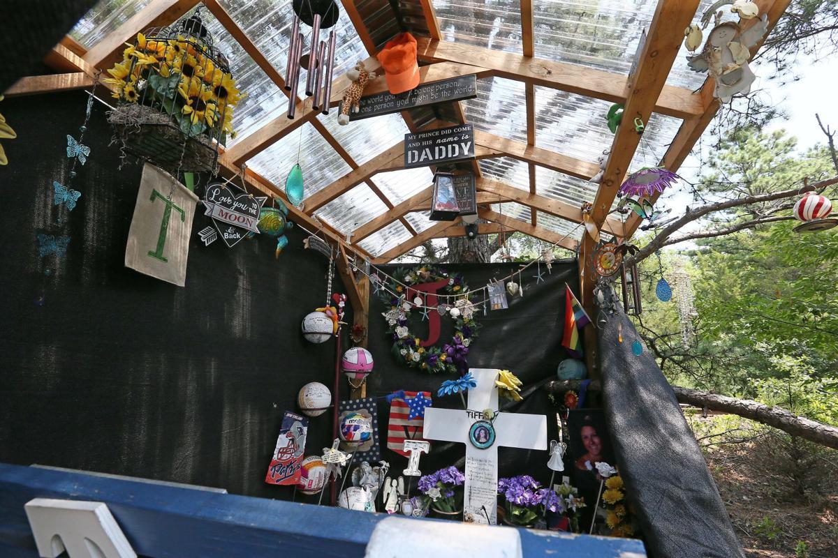A shrine for Tiffany Valiante