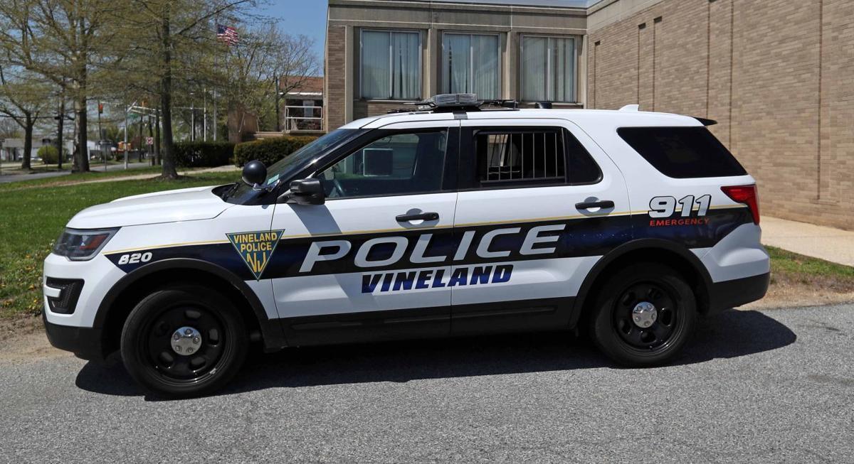 Vineland Police vehicle