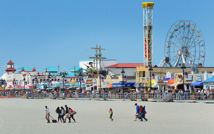 Ocean City Beach And Boardwalk Sunday Photo Galleries