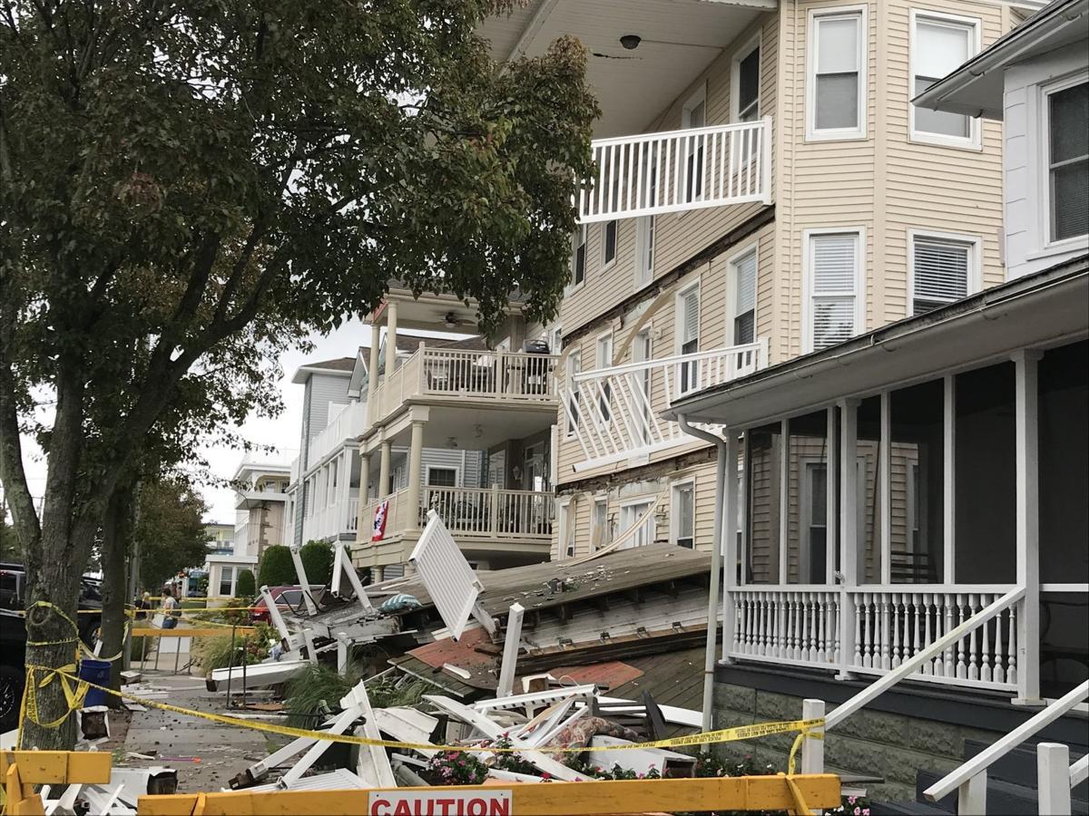Wildwood deck collapse