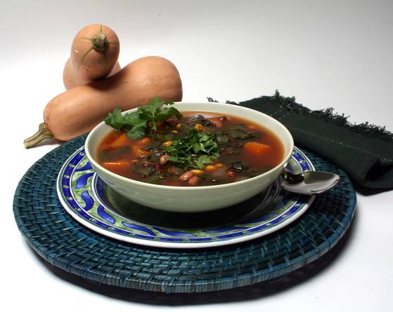 Southwestern bean soup, made better