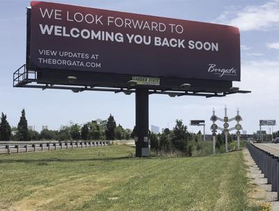 Borgata billboard