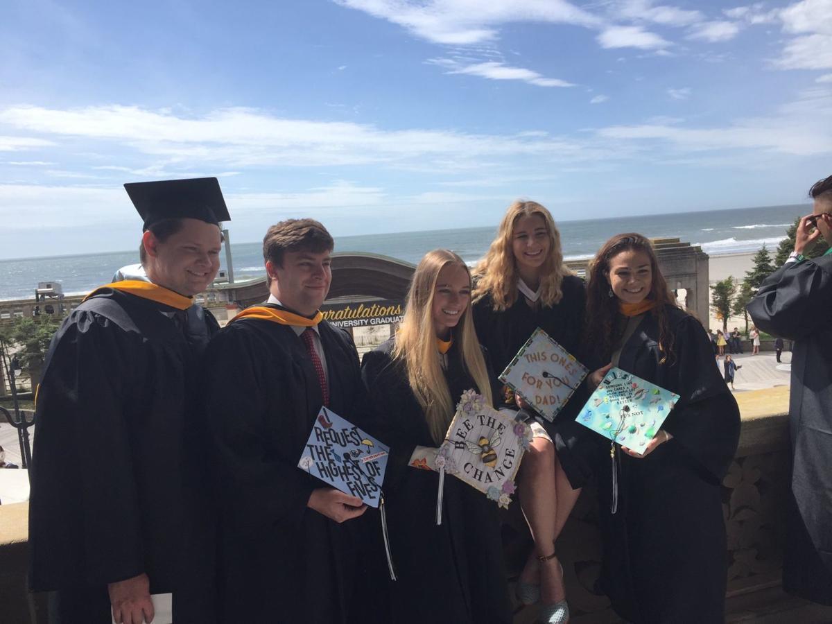 Stockton University's graduation