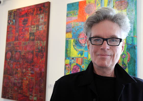 Artist's journey takes him all over the world, back to South Jersey