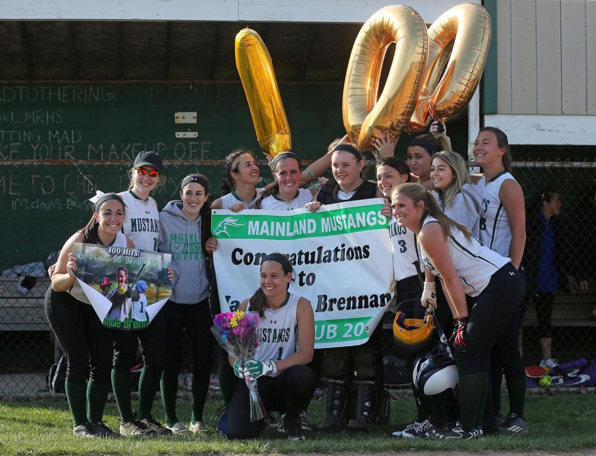 Mackenzie Brennan reaches100 hits