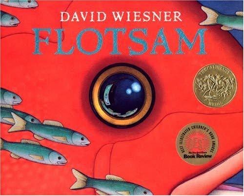 """Illustrator David Wiesner's  2007 book """"Flotsam"""""""
