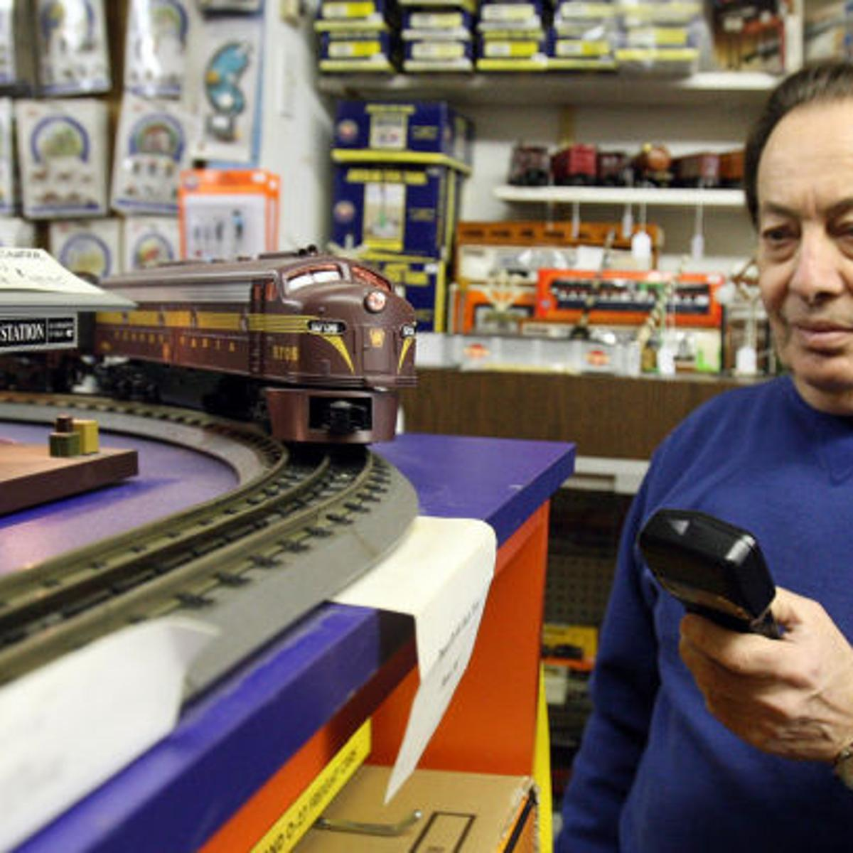 Model-train enthusiast doing well with Wildwood hobby store