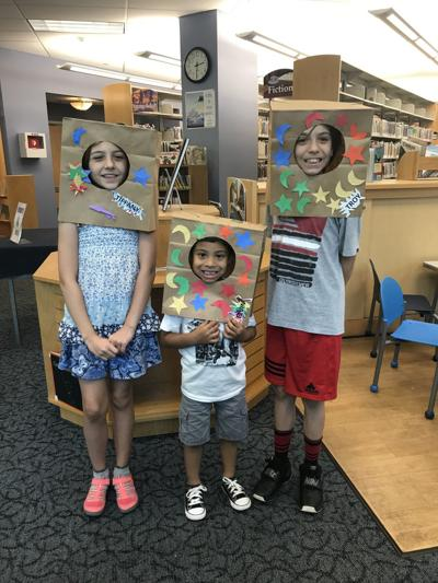 Paper Bag Space Helmet event July 13th