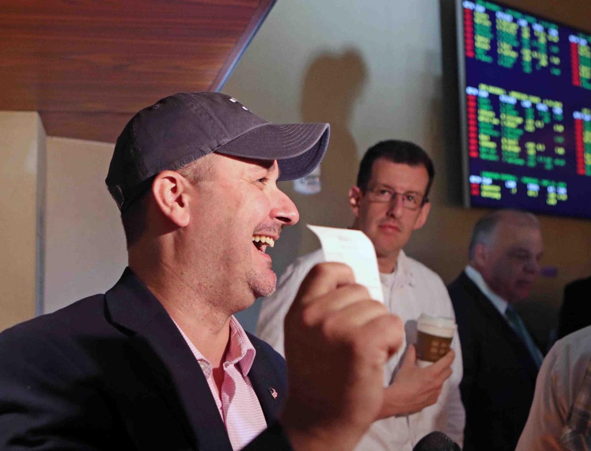 Sports betting at Borgata