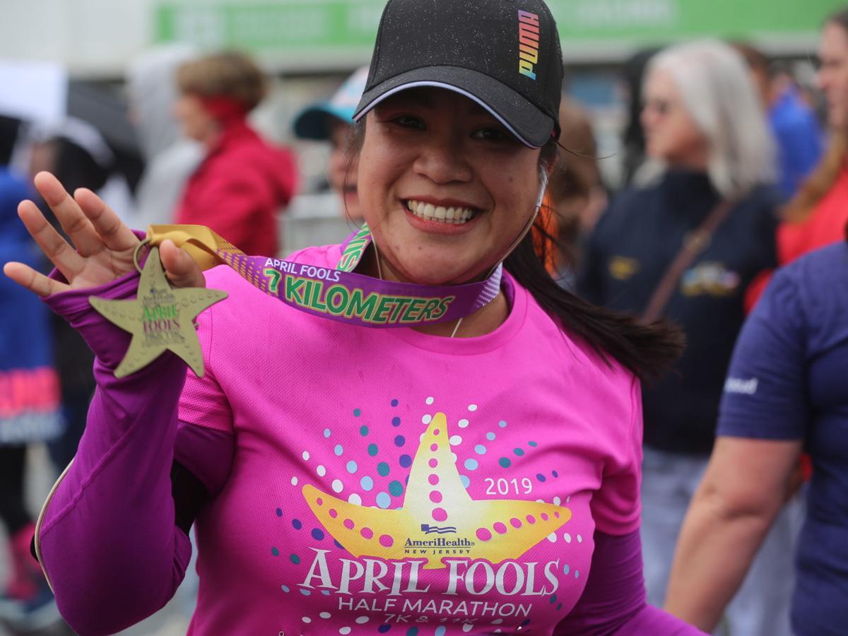 SEEN at the Atlantic City April Fools 7K, 11K runs