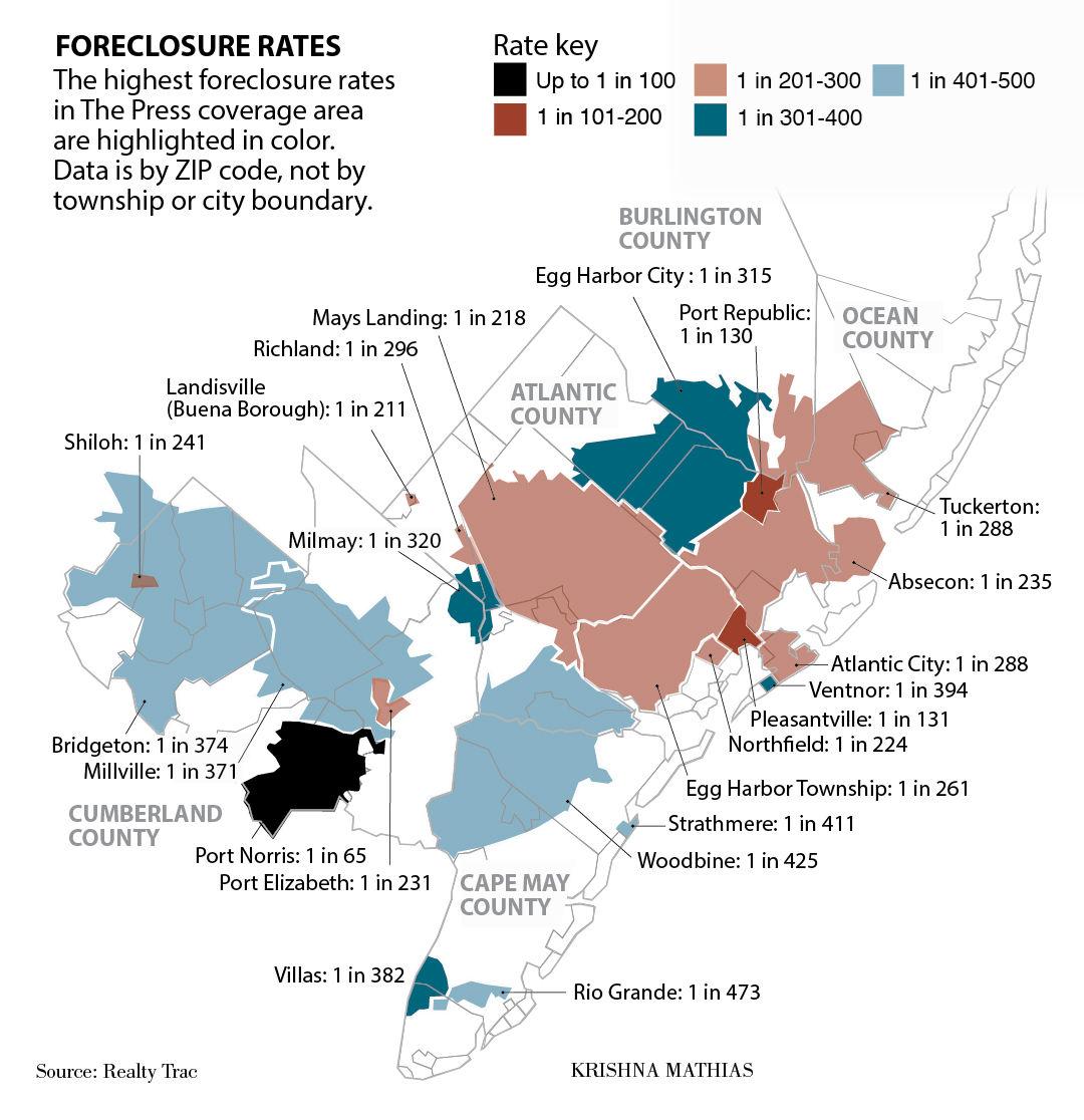 Foreclosure map 2015