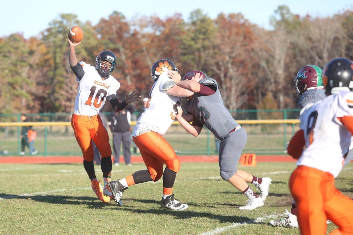 Cedar Creek VS Middle Township Football