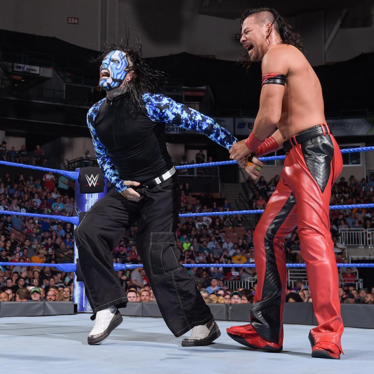 WWE Nakamura Hardy