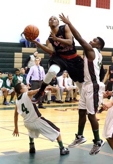 St. Joseph boys basketball suffocates Cedar Creek with defense