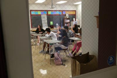 First day of school for Wildwood Middle and High school