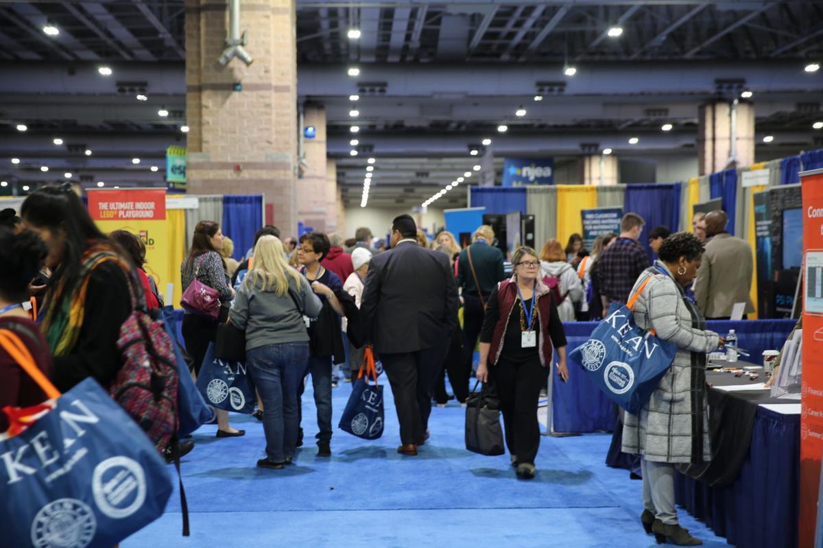 NJEA Convention in Atlantic City Nov. 7, 2019