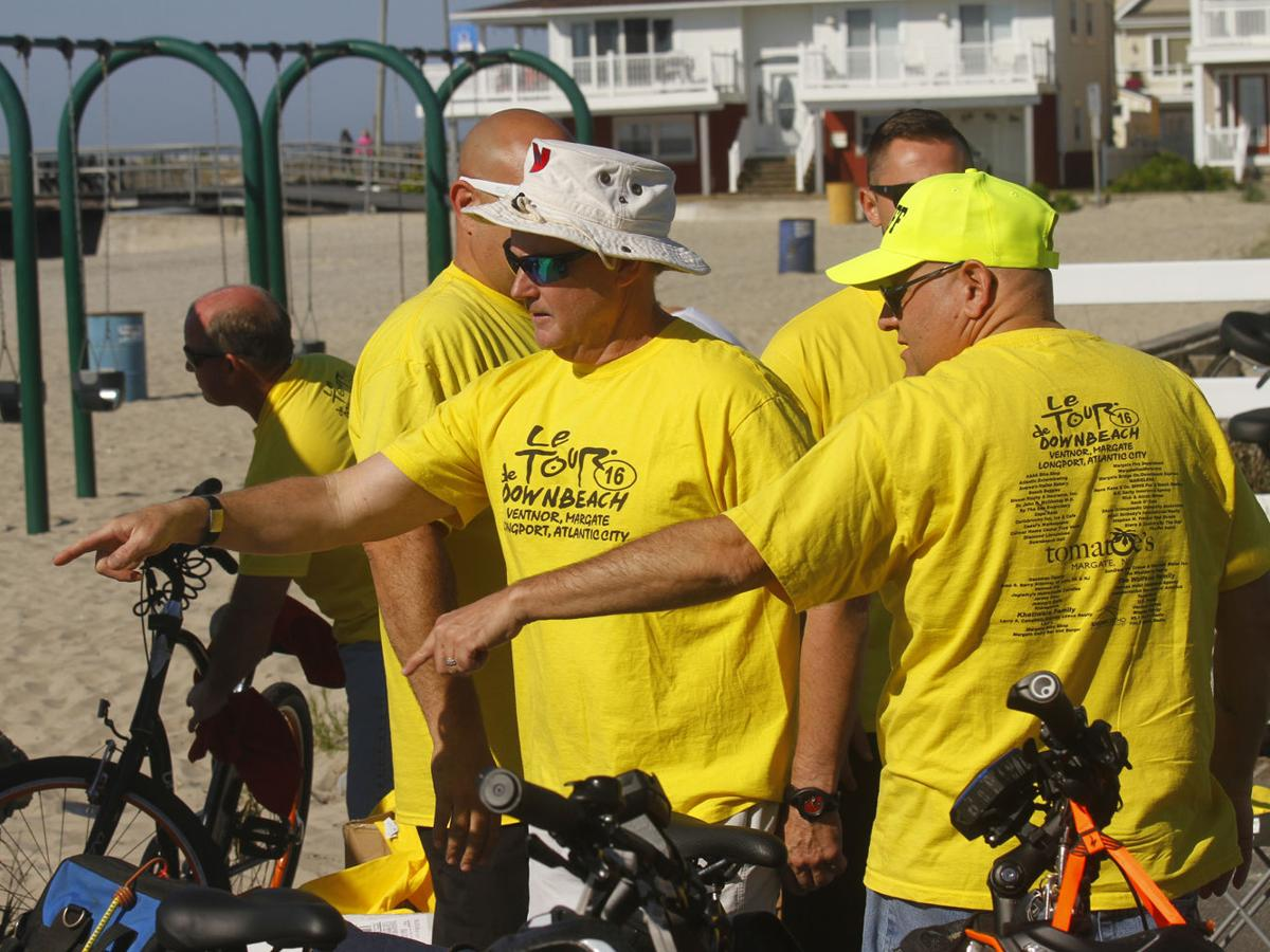 Bikers mount up for annual Le Tour de Downbeach