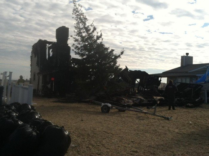 Little Egg Harbor Township home destroyed by fire