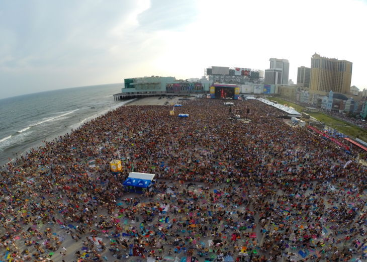 Atlantic City Alliance To Stage Two Beach Concerts In 2017 Breaking News Pressofatlanticcity
