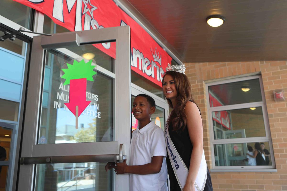 Miss America visited a pair of AC Schools