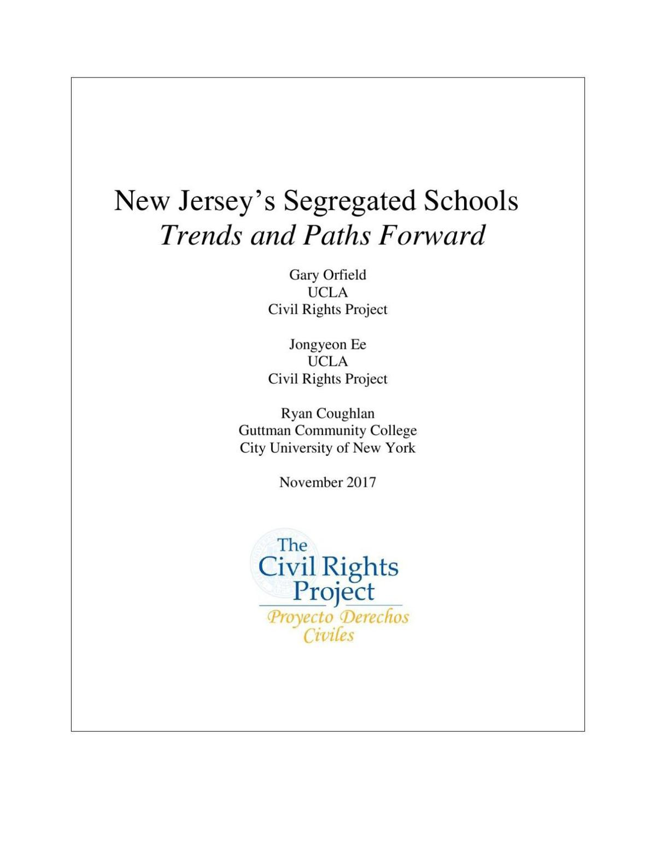 School segregation report UCLA