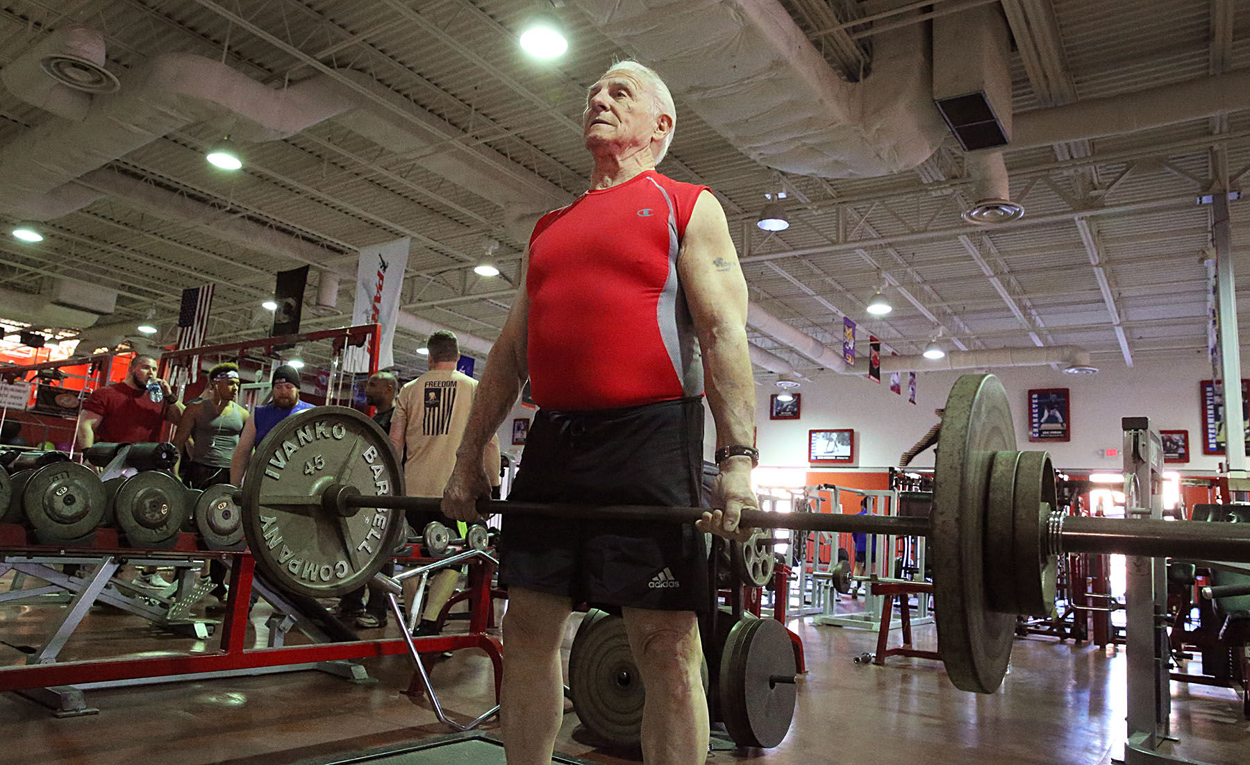 WATCH 80 year old Galloway powerlifter South Jersey