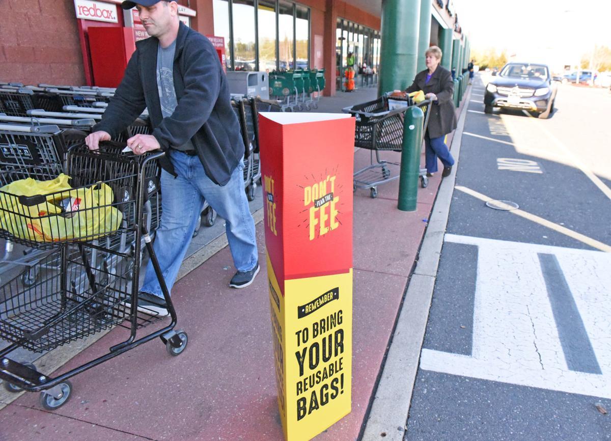 Plastic bag fee starts Jan  7 in South Jersey shopping hub