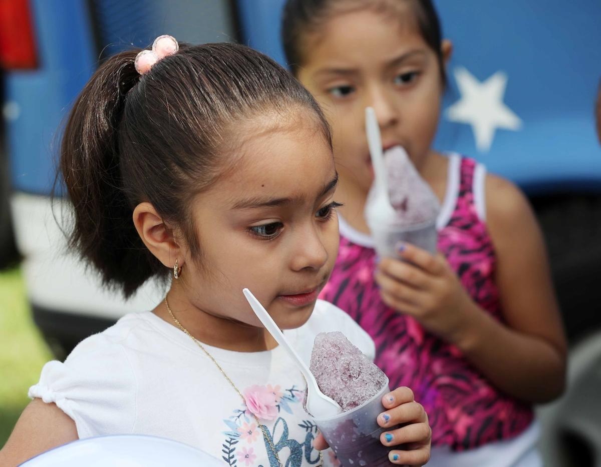 Cumberland County Prosecutor's Office and Vineland Police give ice cream and balloons