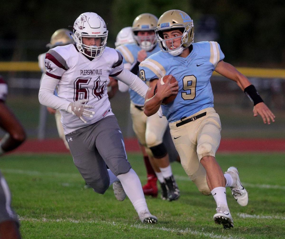 Lower Cape May vs Pleasantville football game