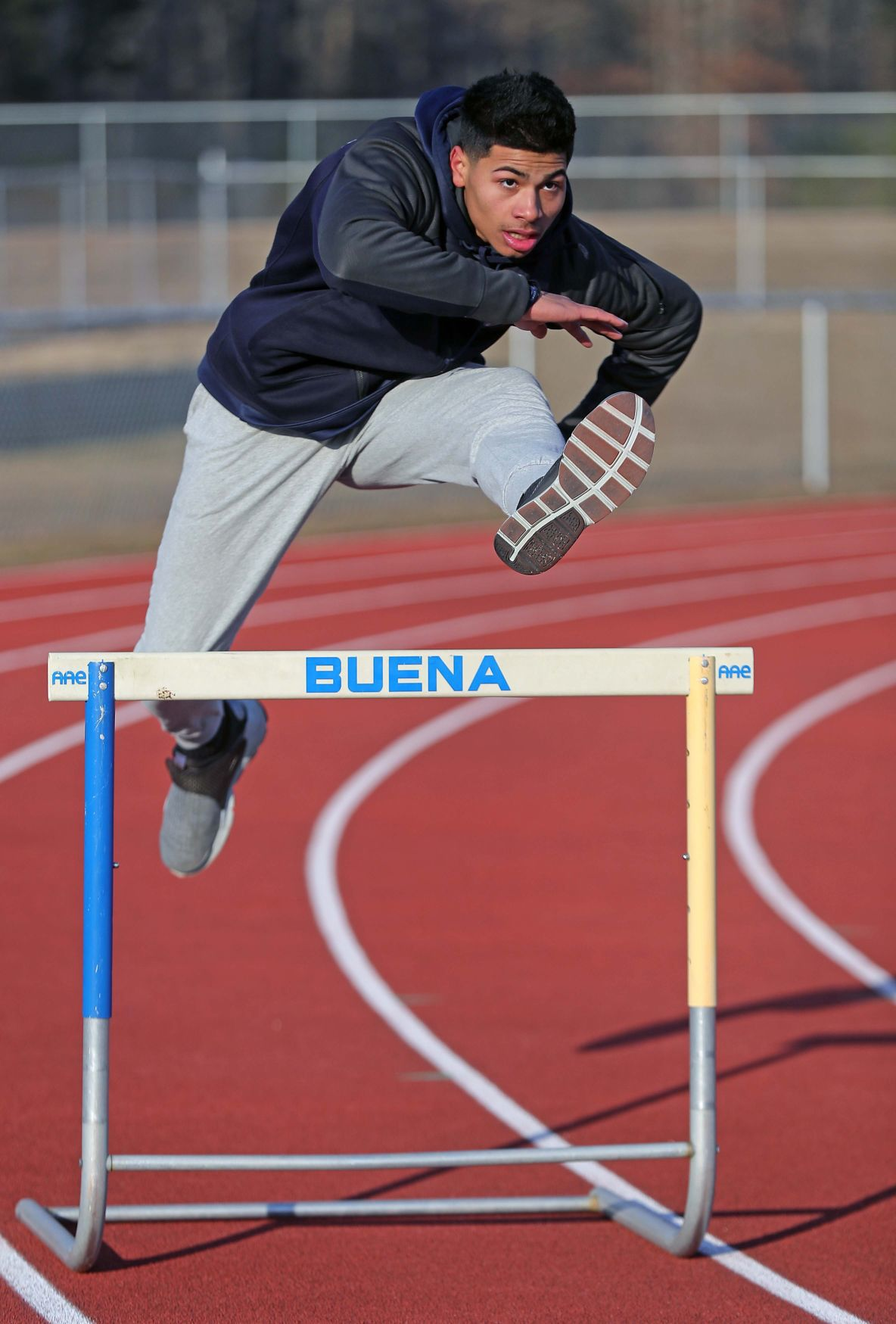 St. Augustine's track standout Sincere Rhea