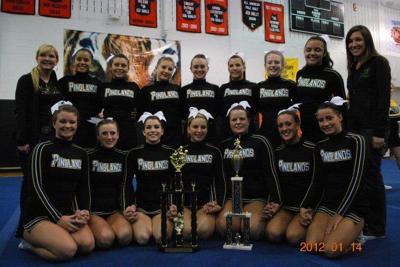pinelands cheerleaders